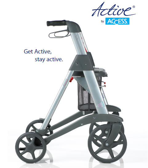 Adult Walking Aid Active Rollator Access W Resistor