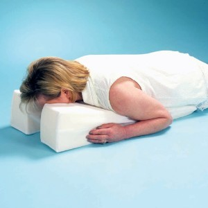 Head Amp Neck Support Face Down Pillow Mj1430